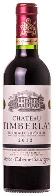 Vinho Chateau Timberlay  Superieur Premiun Tinto Robert Giraud 375ml