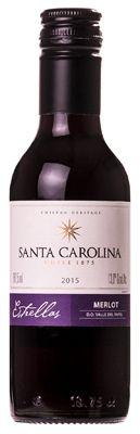 Vinho Santa Carolina Estrellas Reserva Merlot 187ml