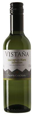 Vinho Vistaña Santa Carolina Sauvignon Blanc e Semillon de 375ml