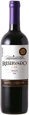 Vinho Santa Carolina Reservado Merlot