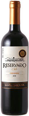 Vinho Santa Carolina Reservado Carmenere