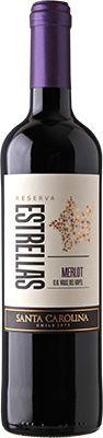 Vinho Estrellas Santa Carolina  Merlot