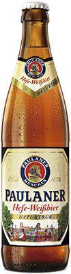 Cerveja Paulaner Hefe-Weissbier Naturtrub 500 ml