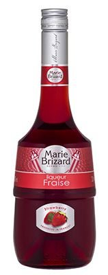 Licor Marie Brizard Clássico Fraise Strawberry (Morango)