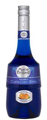 Licor Marie Brizard Clássico Curaçao Bleu (Curaçao Blue)