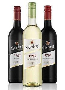 Confraria Fevereiro 2018: Nederburg 1791 Pinotage +  Cabernet Sauvignon +Sauvignon Blanc
