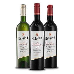 Kit 3 Nederburg Winemaster's: Pinotage/Cabernet Sauvignon /Sauvignon Blanc