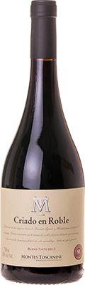 Vinho Montes Toscanini Criado em Roble Blend Tinto