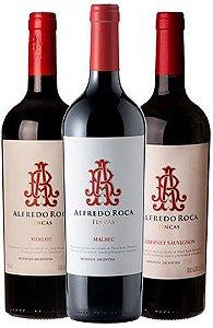 Kit Vinhos Alfredo Roca: Cabernet Sauvignon, Malbec e Merlot