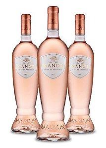 Kit Rose: 3 Unidades Manon Côtes de Provence Rosé