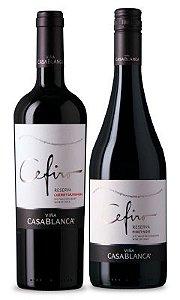 Confraria Março 2018: Cefiro Reserva Pinot Noir + Cefiro Reserva Cabernet Sauvignon