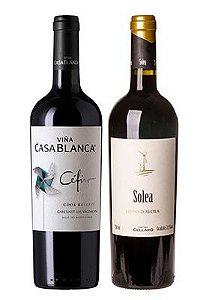 Confraria Outubro 2018: Cefiro Cabernet Sauvignon  + Cantina Cellaro Solea Nero d´Avola