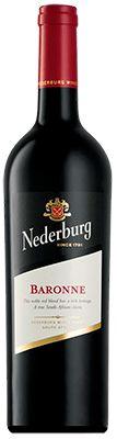 Vinho Nederburg Winemasters Baronne Cabernet Sauvignon Shiraz