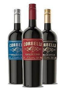Confraria Fevereiro 2019: Corbelli Sangiovese + Nero d'Avola + Montepulciano