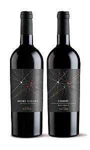 Confraria Março 2019: Especial Toscana - Terre Natuzzi Chianti + Rosso
