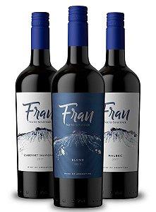Confraria Junho 2019: Novidade Nieto Senetiner - Fran Blend + Fran Cabernet Sauvignon + Fran Malbec