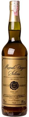 Vinho Lombardo Marsala Vergine Soleras Oro Secco