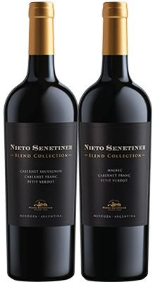 Confraria Março 2020:  Nieto Blend Collection Malbec +  Nieto Blend Collection Cabernet Sauvignon