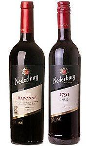 Confraria Maio 2020: Especial Nederburg Winemasters Baronne + I79I Shiraz