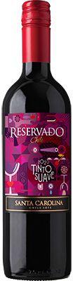 Vinho Santa Carolina Reservado Tinto Suave