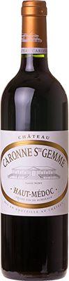 Vinho Chateau Caronne Ste. Gemme 2015