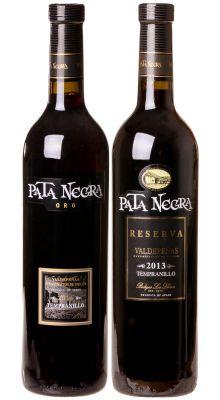 Kit Espanha: Pata Negra Reserva Tempranillo + Vinho Pata Negra Oro Tempranillo