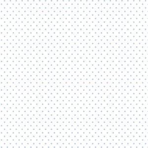 TECIDO 100% ALGODÃO FABRICART POÁ P AZUL CANDY - PREÇO DE 0,50 x 1,50
