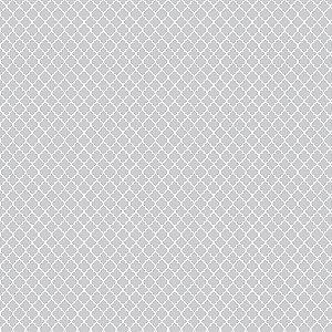 TECIDO 100% ALGODÃO FABRICART VITRAL CINZA CANDY - PREÇO DE 0,50 x 1,50