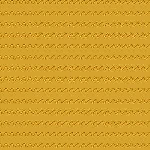 TECIDO 100% ALGODÃO FABRICART COLEÇÃO MONSTRINHOS - ONDAS MOSTARDA - PREÇO DE 0,50 x 1,50