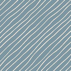 TECIDO 100% ALGODÃO FABRICART COLEÇÃO FALLING IN LOVE - LIGHT BLUE DIAGONAL - PREÇO DE 0,50 x 1,50