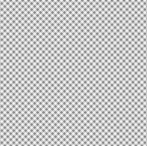 TECIDO 100% ALGODÃO FUXICOS E FRICOTES COLEÇÃO MICRO XADREZES - MICRO XADREZ CINZA - PREÇO DE 0,50 X 1,50