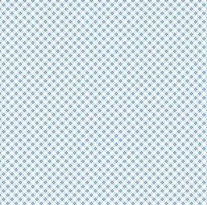 TECIDO 100% ALGODÃO FUXICOS E FRICOTES COLEÇÃO MICRO XADREZES - MICRO XADREZ AZUL CLARO - PREÇO DE 0,50 X 1,50