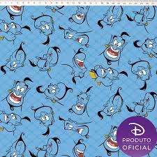 TECIDO 100% ALGODÃO FERNANDO MALUHY -GÊNIO ALADDIN- PREÇO DE 0.50 x 1,50