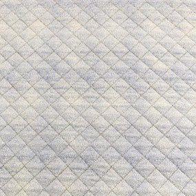 TECIDO MATELASSADO TRICOLINE TONS DE AZUL CLARO- PREÇO DE 0.50 x 1,50