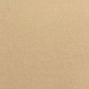 TECIDO LINHO LISO- COR BEGE- PREÇO DE 0.50 x 1,50