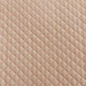 TECIDO MATELASSADO LINHO MINI RETO ROSE CLARO- PREÇO DE 0,50 X 1,35