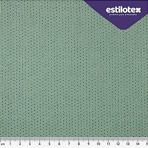 TECIDO 100% ALGODÃO ESTILOTEX -MICRO POÁ CHIQUE TONS DE VERDE- PREÇO 0,50M X 1,50M
