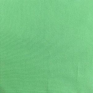 TECIDO 100% ALGODÃO IGARATINGA - LISO VERDE CLARO - 0,50M X 1,50M