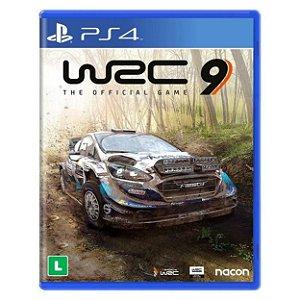 WRC 9 (FIA World Rally Championship) - PS4 - Novo
