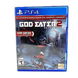 God Eater 2 Rage Burst - PS4 - Usado