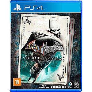 Batman Return to Arkham - PS4 - Usado