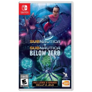 Subnautica + Sub Below Zero Double Pack - SWITCH - Novo [EUA]