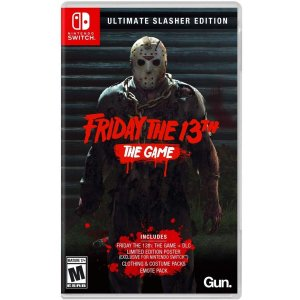 Friday The 13th The Game Ultimate Slasher Edition - SWITCH - Novo [EUA]