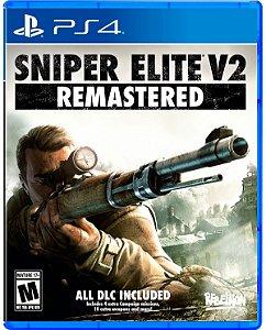 Sniper Elite V2 Remastered - PS4 - Novo
