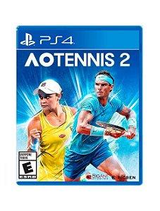 AO Tennis 2 - PS4 - Novo