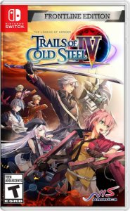 The Legend of Heroes Trails of Cold Steel IV Frontline Edition - SWITCH - Novo [EUA]