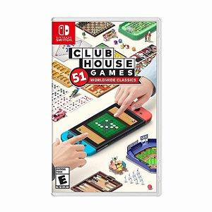 Clubhouse Games 51 Worldwide Classics - SWITCH - Novo [EUA]