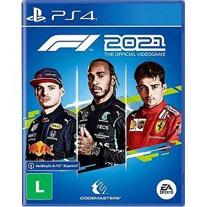 F1 2021 - PS4 / PS5 - Novo