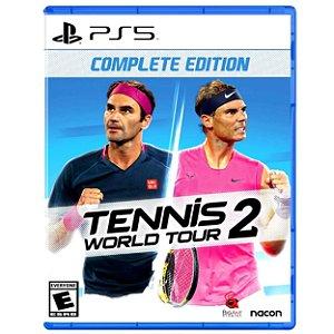 Tennis World Tour 2 - PS5 - Novo