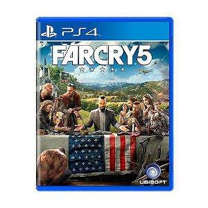 Far Cry 5 - PS4 - Novo